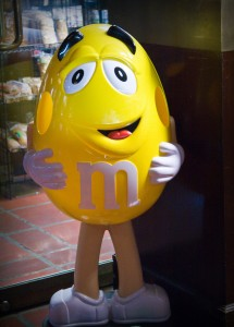 Tasty M&M Candy